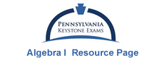 Keystone Exams: Algebra I  Resource Page